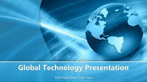 Technology Powerpoint Global Technology Powerpoint Template Powerpoint Templates