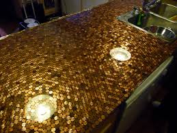Penny Kitchen Floor Install A Penny Countertop In Your Kitchen Make