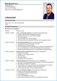 6 Lebenslauf Franz Sisch Rechnungsvorlage