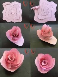 Glace Paper Flower Flower Twisting Craft Tutorial For A Quick And Easy Craft