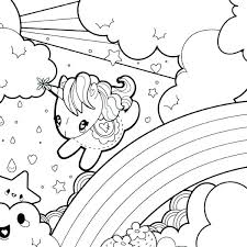 Free Unicorn Coloring Pages 600600 Free Unicorn Coloring Pages Baby