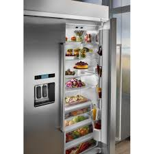 kitchenaid 48 29 5 cu ft built in side by