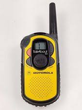 motorola talkabout. motorola talkabout 101 2-mile 14-channel frs two-way radio tested works talkabout