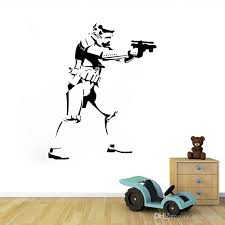 Small Picture 4658cm Star Wars Wall Decals Removable Pvc Wall Stickers For Kids