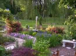 Small Picture Perennial Flower Garden Design Gardens Japanese iris and Garden