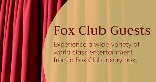Fox Club Luxury Box Guests The Fabulous Fox Theatre