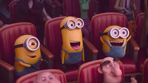 lazer team minions in movie theatre jpg