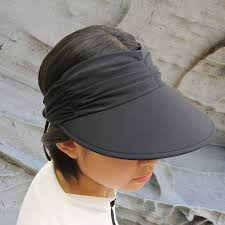 Ladies Designer Sun Visors Sun Hat Ladies Visor Lycra Adjustable Visor Black Upf50 Excellent Protection Which Blocks 97 5 Of The Suns Uv Radiations Giving Excellent
