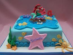 Ariel Cake Decorations The Little Mermaid Cake Hand Made Decorations The Little Flickr