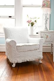 White furniture shabby chic Bedroom Antique Chair Slipcover Shabby Chic Inspiration shabbychic Indus Valley Designs Antique Chair White Vintage Matelasse Bedspread Shabby Chic Cottage