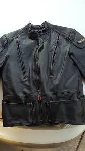 hein gericke leather jacket size 40