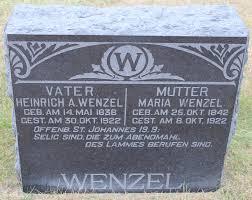 Heinrich Adam Wenzel, Sr (1838-1922) - Find A Grave Memorial