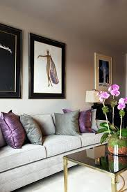 purple and brown living room natural and blended tones purple grey brown living room