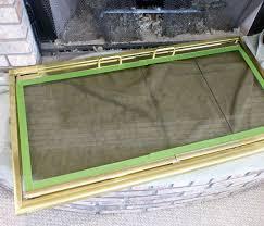 paint brass fireplace doors trend bathroom accessories small room or other paint brass fireplace doors design