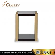 china modern square wooden top coffee