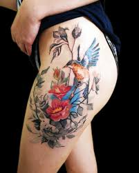 самые женственные татуировки с птицами 20 стильных идей журнал элис