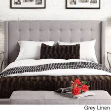 INSPIRE Q Marion Nailhead Wingback Tufted Queen-sized Headboard - Overstock  Shopping - Big Discounts