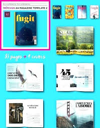 e magazine templates free download stylish magazine template professional free premium online
