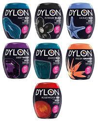 Dylon Dye Colour Chart A00129 Dylon Fabric Dye Pods For Washing Machine Full Colour Range