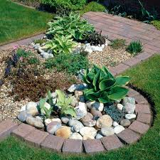 brick garden edging ideas