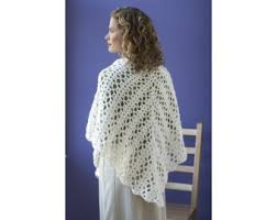 Lion Brand Free Crochet Patterns Mesmerizing Bridal Shawl Crochet Lion Brand Yarn