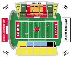 Mcnease Convention Center Seating Chart 2019 Football Vs Mcneese On 11 23 2019 Tickets