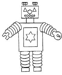 Robot Kleurplaten