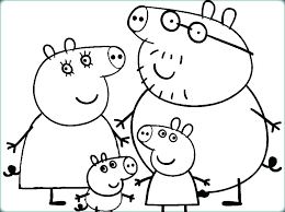 Peppa Pig Coloring Page Pig Coloring Pages Pig Coloring Page Pig