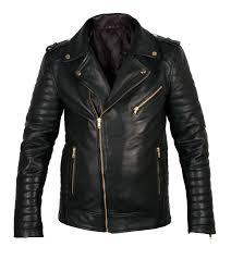Quilted Biker leather jacket &  Adamdwight.com