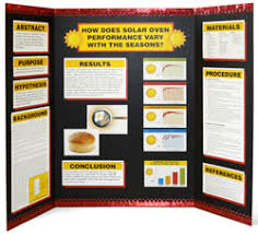 perfecting the project display board