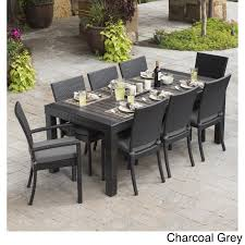 RST Brands Deco 9-piece Dining Set Patio Furniture - Free Shipping Today -  Overstock.com - 16281584