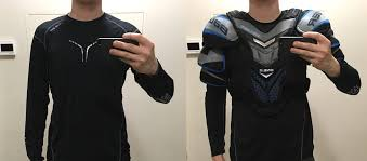 Bauer Shoulder Pad Size Chart Equipment Help Needed With The Shoulder Pads Sizing