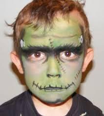 cute frankenstein face painting pintura ustadora frankenstein face paint kids frankenstein costume