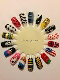 Wah Nail Designs Wah Nails Nail Art Wheel Nail Art Wheel Nail Art Diy
