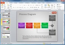 Process Flow Chart Template Ppt How To Make A Flowchart In Powerpoint