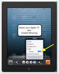 airplay apple tv code