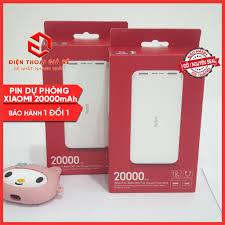 Pin, Sạc dự phòng Xiaomi Redmi 20000mAh Chính Hãng, Sạc Nhanh 18W - Bảo  hành 3 tháng tại Hà Nội