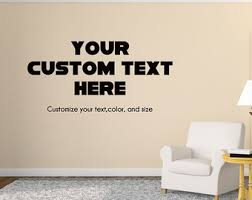 custom wall decor stickers