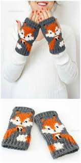 Fox Knitting Chart Knitted Fox Patterns Free Ideas Youll Love The Whoot