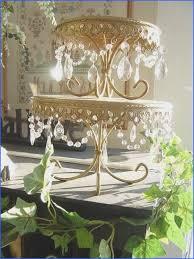 crystal chandelier wedding cake stand