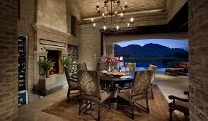 mediterranean dining room furniture. Old Brick Dining Room Sets Reference Idea For Mediterranean With Veneer, Chandelier, Archway And Eldorado Stone Furniture