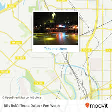Billy Bobs Fort Worth Seating Chart How To Get To Billy Bobs Texas In Fort Worth By Bus Or