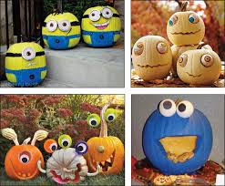 Painted Minion Pumpkins Minion Painted Pumpkins Special Offers