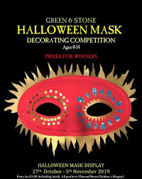 <b>CHILDREN'S HALLOWEEN MASK DECORATING</b> COMPETITION ...