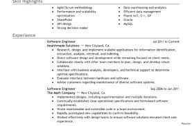 Good Resume Profile Examples Sarahepps Com