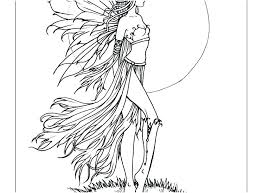Coloring Pages Fairy Coloring Page Fairy Fantasy Coloring Pages