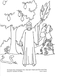 Small Picture Adam And Eve Coloring Pages Coloring Home