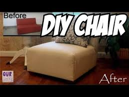 diy lounge furniture. How To Make Furniture Lounge Chairs From 1 Sofa - OurHouse DIY YouTube Diy
