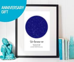 Etsy Star Chart Personalised Star Map Custom Star Chart Custom Star Map Custom Star Print Husband Gift Wedding Gift Anniversary Gift Personalized Map