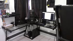 l shaped gaming desk greenville home trend l shaped gaming desk ideas
